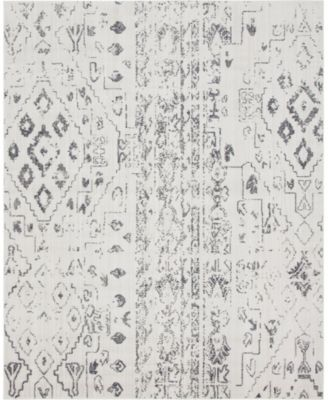 Nira Nir2 Ivory/Gray 8' x 10' Area Rug