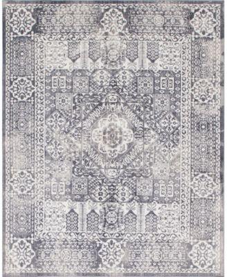Zilla Zil3 Gray 8' x 10' Area Rug