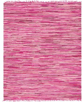 Jari Striped Jar1 Pink 9' x 12' Area Rug