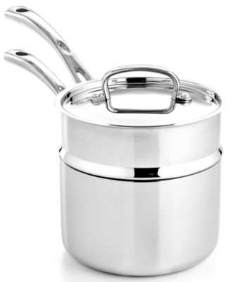 Calphalon Contemporary Stainless Steel 2 5 Qt Covered