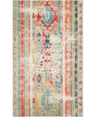 CLOSEOUT! Arcata Arc1 Blue 5' x 8' Area Rug