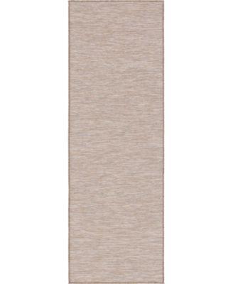 Pashio Pas8 Beige 2' x 6' Runner Area Rug