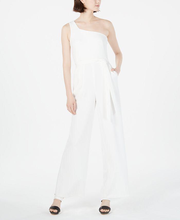 Calvin Klein - One-Shoulder Jumpsuit