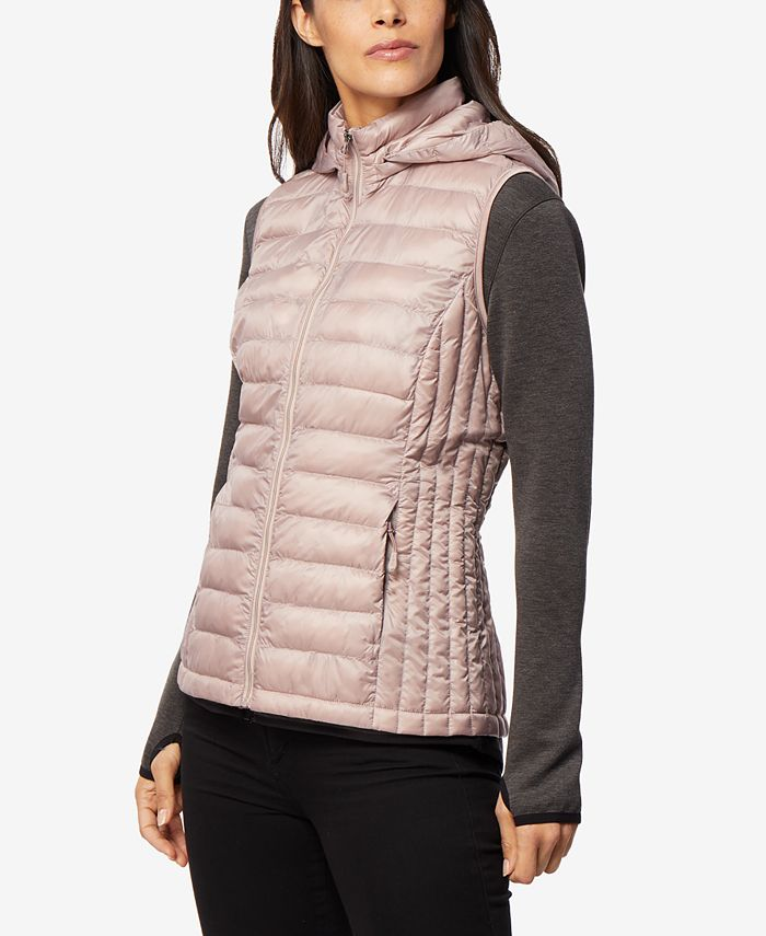 32 Degrees - Hooded Packable Puffer Vest