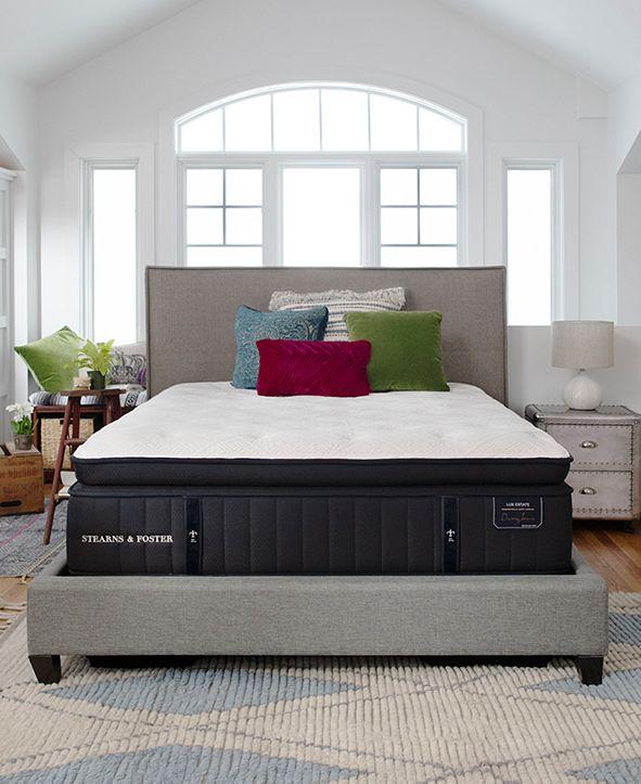 """Stearns & Foster Estate Rockwell 15"""" Luxury Firm Euro Pillow Top Mattress - Queen"""