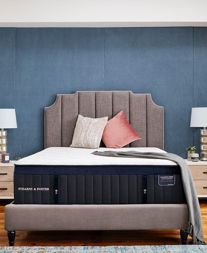 """Stearns & Foster - Estate Hurston 14.5"""" Luxury Firm Euro Pillow Top Mattress - Full"""
