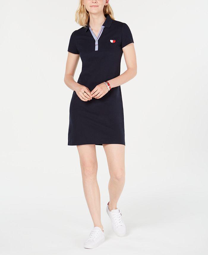 Tommy Hilfiger - Short-Sleeve Polo Dress