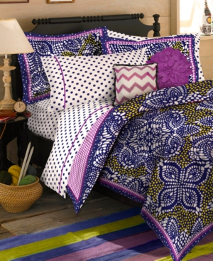 Teen Vogue Bedding, Samara Batik Twin Comforter Set Bedding