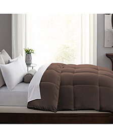 Hybrid-Blend Quill-Less Feather and Down Comforter, Full/Queen