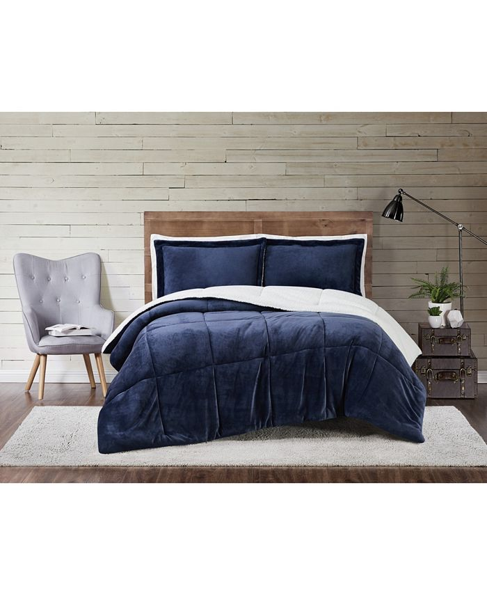 Truly Soft - Cuddle Warmth 3-Pc. Comforter Sets