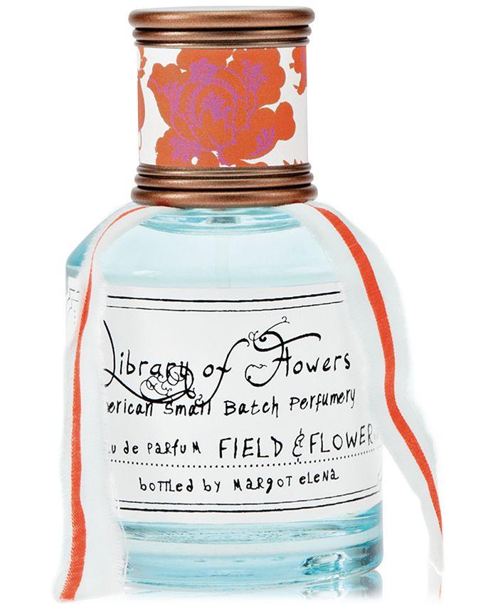 Library of Flowers - Field & Flowers Eau de Parfum, 1.69-oz.