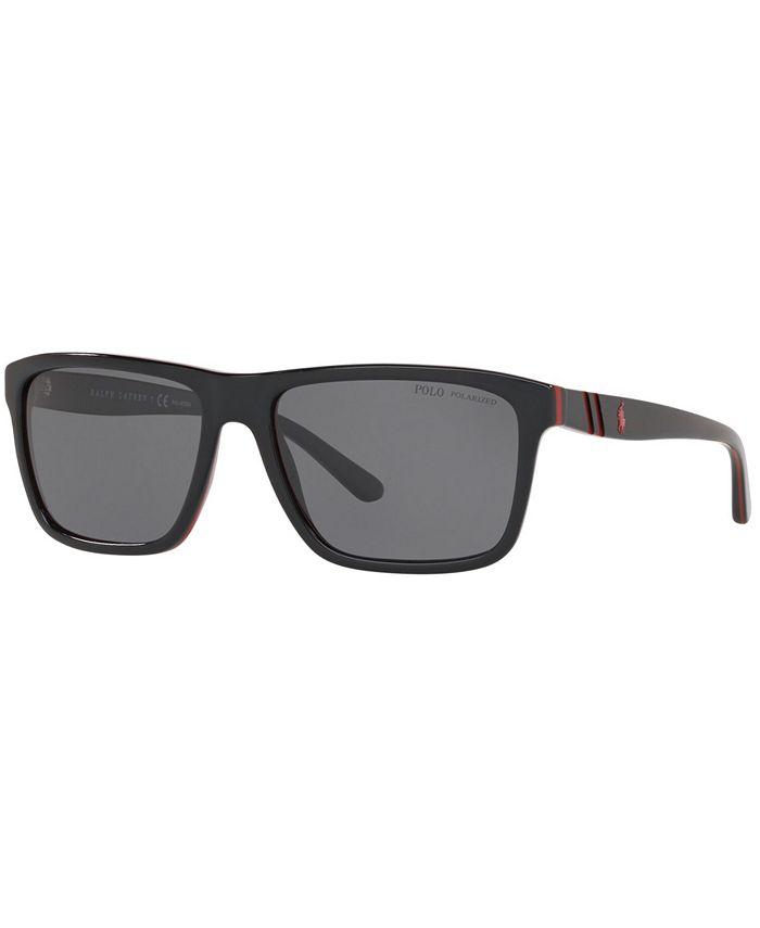 Polo Ralph Lauren - Polarized Sunglasses, PH4153 58