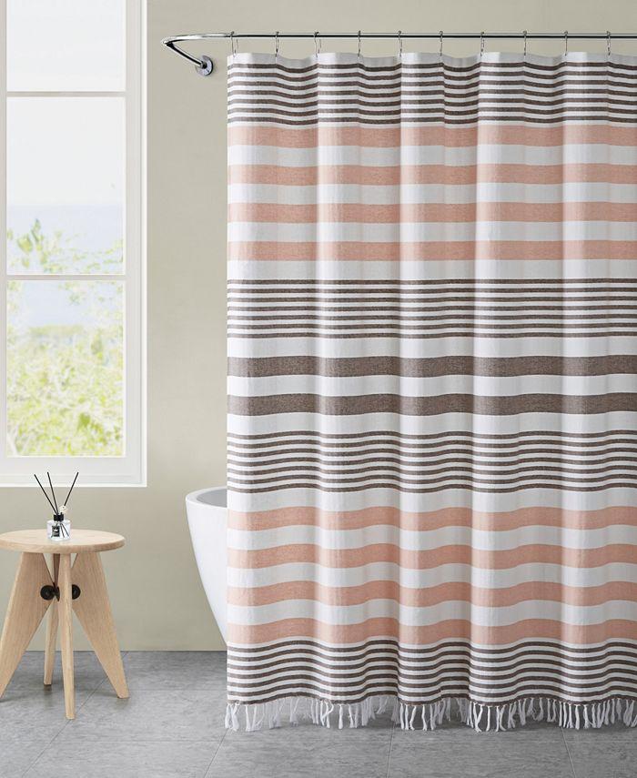 "VCNY Home - Margot Stripe 72"" x 72"" Shower Curtain"