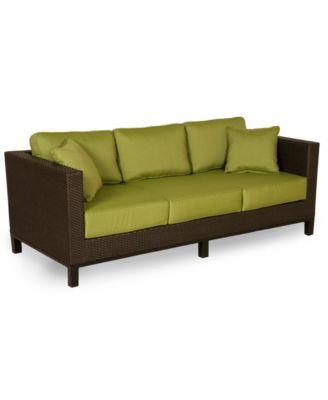 Belize Wicker Outdoor Sofa
