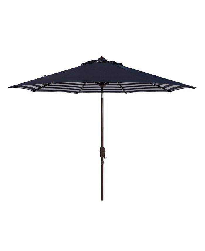 Safavieh - Athens 9' Umbrella, Quick Ship