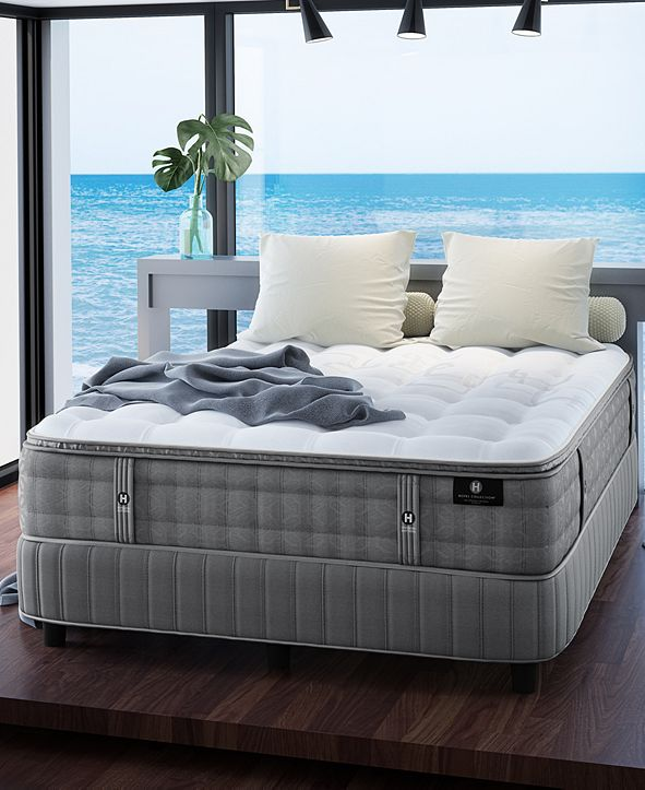 """Hotel Collection by Aireloom Handmade Plus 14.5"""" Cushion Firm Luxetop Mattress Collection, Created for Macy's"""