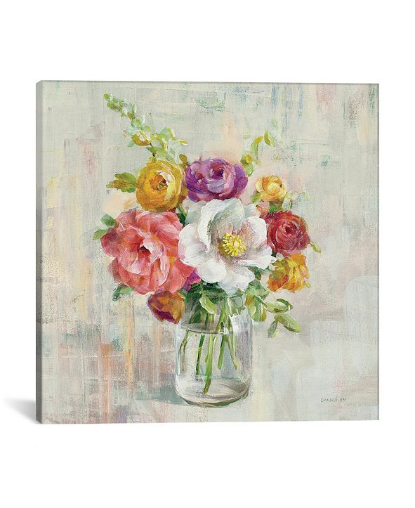 "iCanvas Summer Treasures I by Danhui Nai Gallery-Wrapped Canvas Print - 37"" x 37"" x 0.75"""