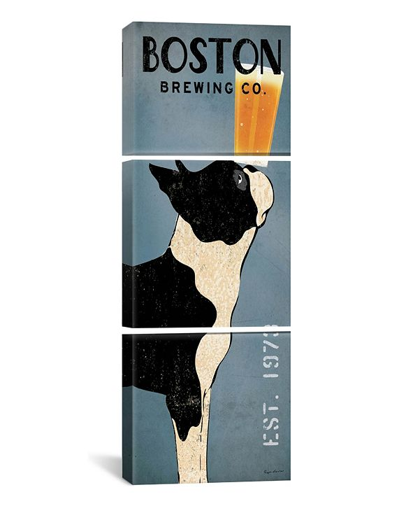 """iCanvas Boston Brewing Co. by Ryan Fowler Gallery-Wrapped Canvas Print - 60"""" x 20"""" x 1.5"""""""