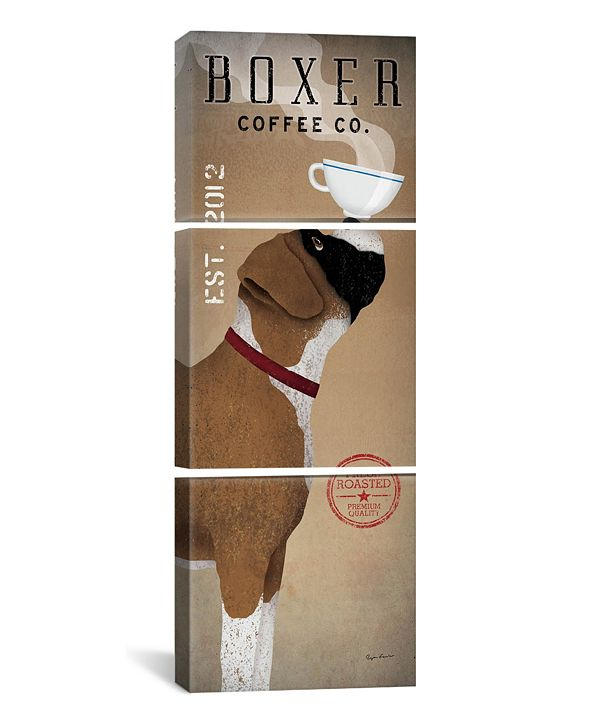 """iCanvas Boxer Coffee Co. by Ryan Fowler Gallery-Wrapped Canvas Print - 60"""" x 20"""" x 1.5"""""""