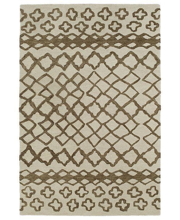 Kaleen Casablanca CAS01-49 Brown 2' x 3' Area Rug