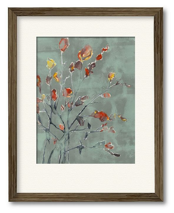 """Courtside Market Wildflower Watercolors II 16"""" x 20"""" Framed and Matted Art"""