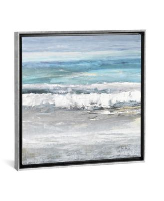 """Tides I by Rachel Springer Gallery-Wrapped Canvas Print - 18"""" x 18"""" x 0.75"""""""