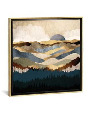 "Golden Vista by Spacefrog Designs Gallery-Wrapped Canvas Print - 18"" x 18"" x 0.75"""