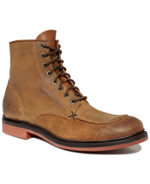 54c359d08e3c A work boot by trade a gentleman by looks. The Wallace Lace Up is burnished  oiled suede perfected. A flesh out tongue and heel piece contrast without a  hint ...