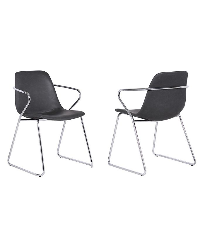 Armen Living - Colton Dining Chair, Quick Ship (Set of 2)