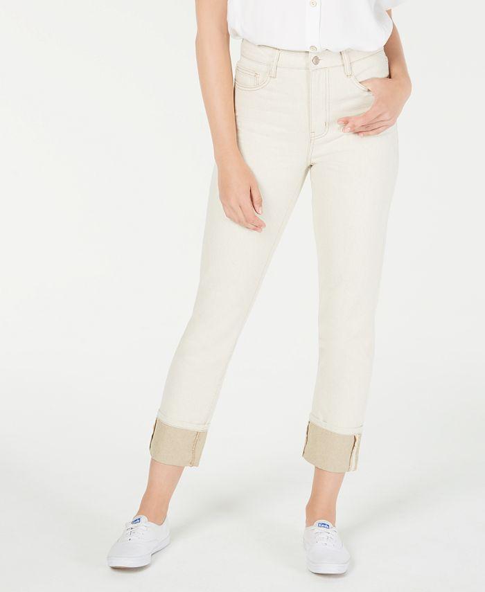 OAT - Cotton Straight-Leg Jeans