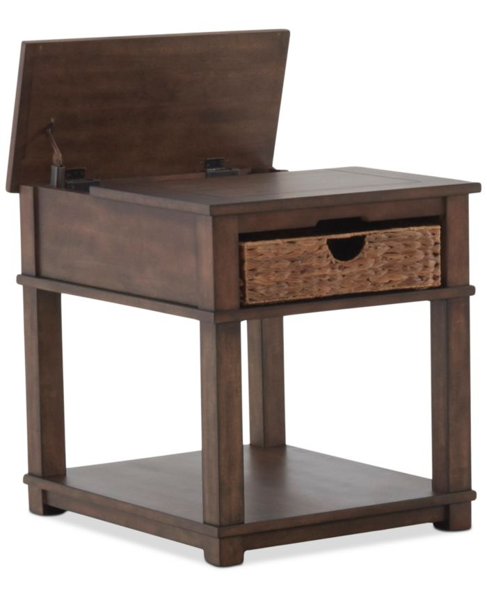 Klaussner Strickland Table Furniture, 2-Pc. Set (Cocktail Table & End Table) & Reviews - Furniture - Macy's