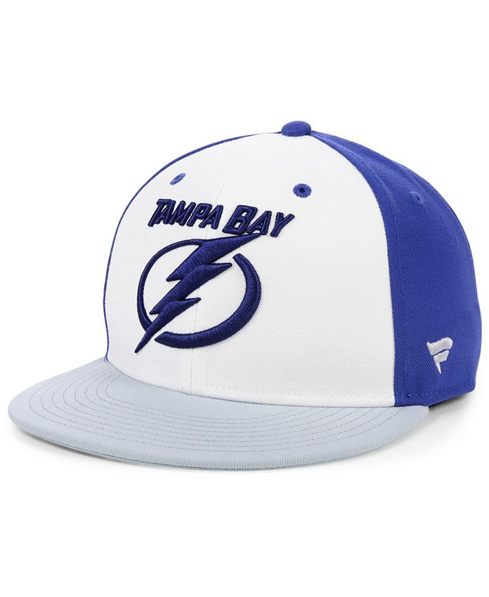 Authentic NHL Headwear - Tri-Color Throwback Snapback Cap