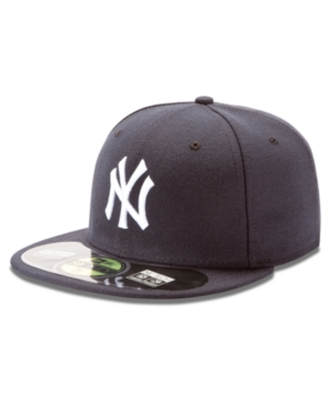 New Era MLB Hat New York Yankees OnField 59FIFTY Fitted Baseball Cap