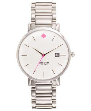 kate spade new york Watch, Women's Gramercy Stainless Steel Bracelet 38mm 1YRU0008