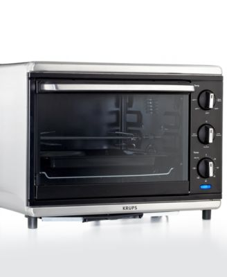 Krups TO740D50 Convection Oven with Rotisserie, Definitive Series Stainless Steel