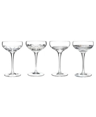 Waterford Stemware, Mixology Clear Coupes, Set of 4
