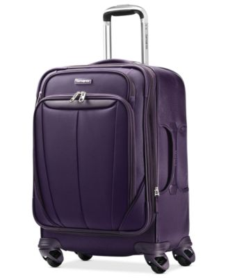 "Samsonite Silhouette Sphere 21"" Carry On Expandable Spinner Suitcase"