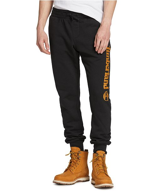 bala apagado Descarte  Timberland Men's Core Regular-Fit Logo-Print Sweatpants & Reviews - Pants -  Men - Macy's