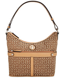 Giani Bernini Annabelle Signature Hobo, Created for Macy's