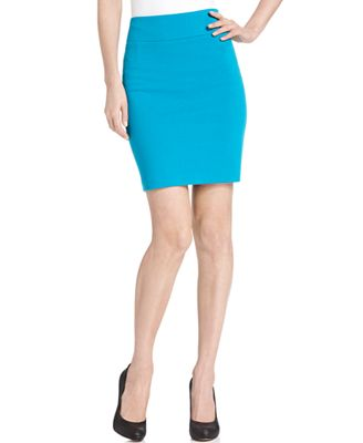 agb skirt pull on ponte knit pencil skirts macy s