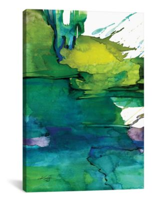 Ethereal Moments I by Kathy Morton Stanion Wrapped Canvas Print - 40