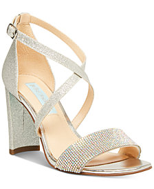 Betsey Johnson Bella Evening Sandals, Created for Macy's