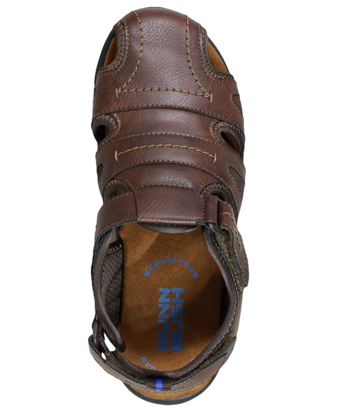 Nunn Bush Men's Rio Grande Closed Fisherman Sandals & Reviews - All Men's Shoes - Men - Macy's