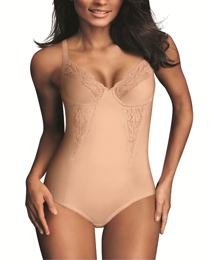 Maidenform - Firm Control Embellished Unlined Body Shaper 1456