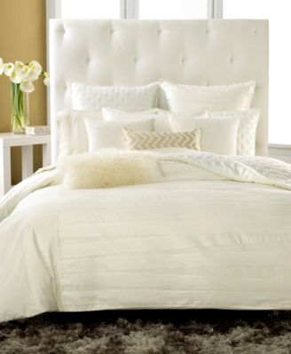 CLOSEOUT! INC International Concepts Incline Ivory King Tufted Coverlet