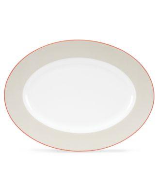 kate spade new york Dinnerware, Hopscotch Drive Taupe Platter
