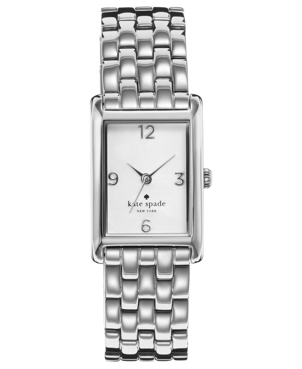 kate spade new york Watch, Womens Cooper Stainless Steel Bracelet 32x21mm 1YRU0035   Watches   Jewelry & Watches