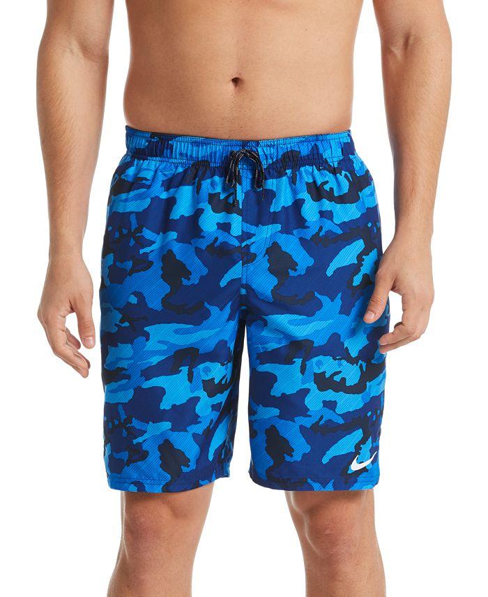 "Nike - Men's Camouflage 9"" Board Shorts"