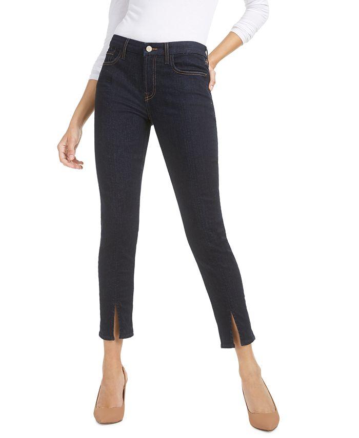 Jen7 by 7 For All Mankind - Split-Seam Ankle Skinny Jeans