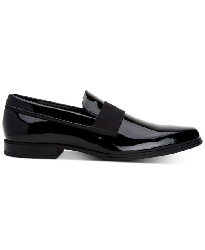 Calvin Klein Men's Demetrius Patent Leather Tuxedo Loafers & Reviews - All Men's Shoes - Men - Macy's